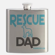 Rescue Dog Dad Flask