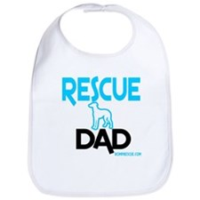 Rescue Dog Dad Bib