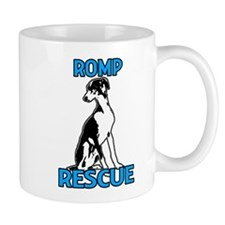 ROMP Italian Greyhound Rescue Mug