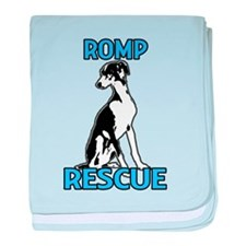 ROMP Italian Greyhound Rescue baby blanket