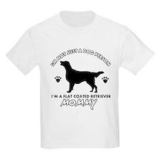 Flat-Coated Retriever dog breed designs T-Shirt