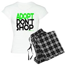 ADOPT DONT SHOP - green Pajamas