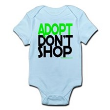 ADOPT DONT SHOP - green Body Suit