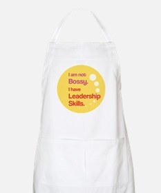 Not Bossy. Leader. Apron