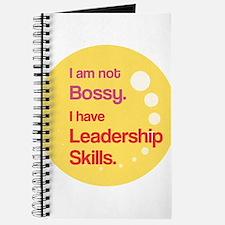Not Bossy. Leader. Journal