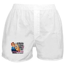 If Rosie Can Do It Breast Cancer Boxer Shorts