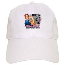 If Rosie Can Do It Breast Cancer Baseball Cap