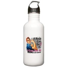 If Rosie Can Do It Breast Cancer Water Bottle