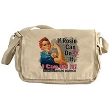 If Rosie Can Do It Breast Cancer Messenger Bag