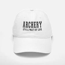 Archery It's A Way Of Life Baseball Baseball Cap