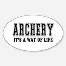 Archery It's A Way Of Life Decal