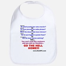 If you can read this Bib