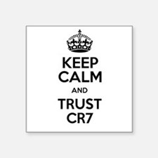 Keep Calm and Trust CR7 Sticker