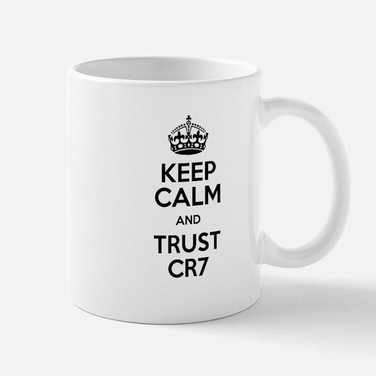Keep Calm and Trust CR7 Mug