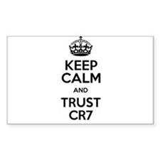 Keep Calm and Trust CR7 Decal