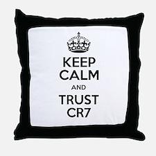 Keep Calm and Love CR7 Throw Pillow