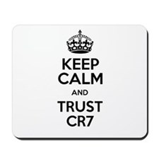 Keep Calm and Love CR7 Mousepad