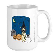 Tri-Color English Setter Halloween Mug