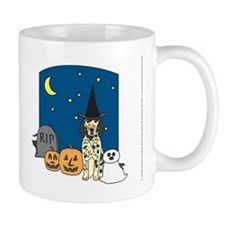 Tri-Color English Setter Halloween Small Mugs