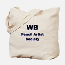 World's Best Pencil Artist Society Tote Bag