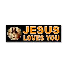 JESUS SAVIOUR Car Magnet 10 x 3