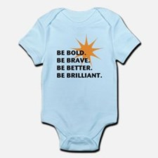 Be Bold Be Brilliant Body Suit