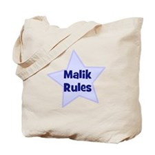 Malik Rules Tote Bag