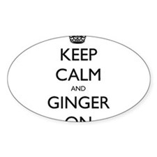 ginger on Decal