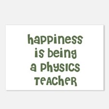 Happiness is being a PHYSICS  Postcards (Package o