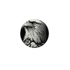 American Bald Eagle Mini Button