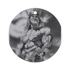 Conan The Barbarian Ornament (Round)