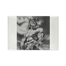 Conan The Barbarian Rectangle Magnet