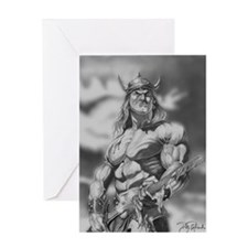 Conan The Barbarian Greeting Card