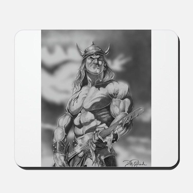 Conan The Barbarian Mousepad