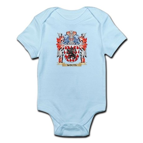 Wouts Coat of Arms - Family Crest Body Suit