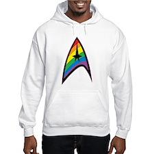Star Trek LGBTQ Rainbow Hoodie