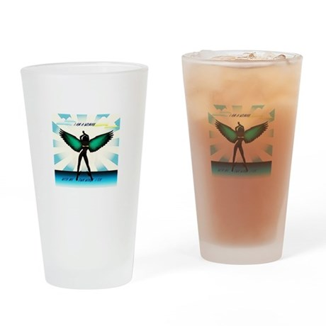 I Am a Woman Drinking Glass