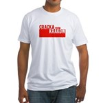 Cracka from Krakow Fitted T-Shirt
