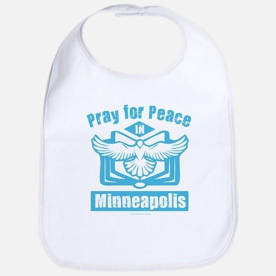 Pray for Minneapolis Baby Bib