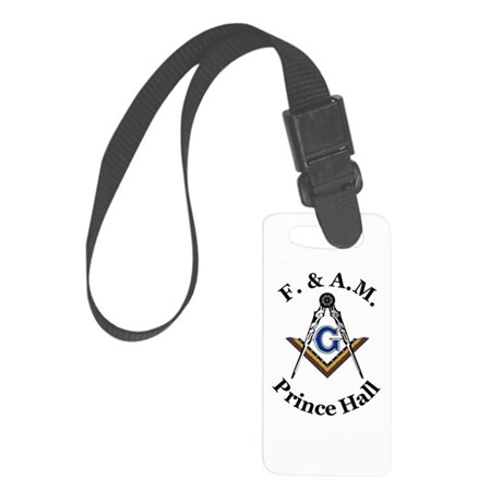 Prince Hall With S And C 2 Small Luggage Tag