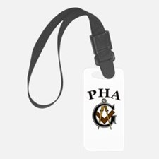PHA Square and Compass Luggage Tag
