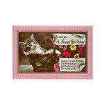 Vintage Kittens Rectangle Magnet