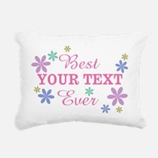PERSONALIZE Best Ever Rectangular Canvas Pillow