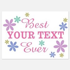 PERSONALIZE Best Ever Invitations