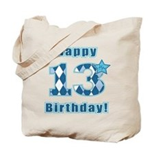 Happy 13th Birthday! Tote Bag