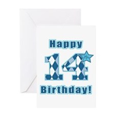 Happy 14th Birthday! Greeting Card