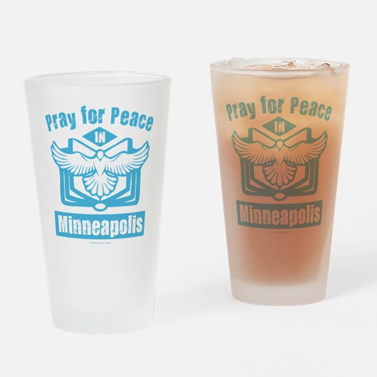 Pray for Minneapolis Drinking Glass