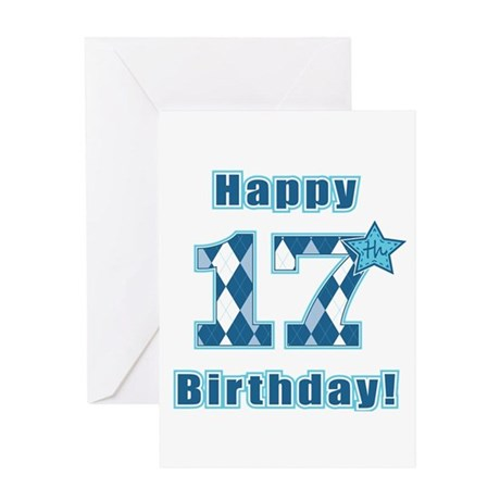 Happy 17th Birthday! Greeting Card