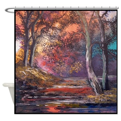 Fall Colors Shower Curtain By Annaray