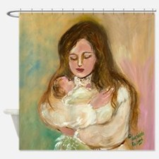 Mother In Love Shower Curtain